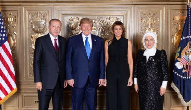 Η φωτογραφία που ανήρτησε η τουρκική προεδρία.