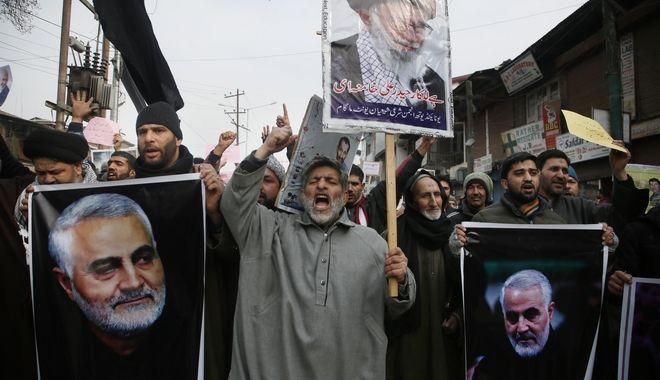 Διαδηλώσεις στο Ιράν για τη δολοφονία Σουλεϊμανί