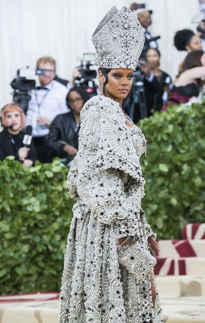 Rihanna, στα  Met Gala to 2018