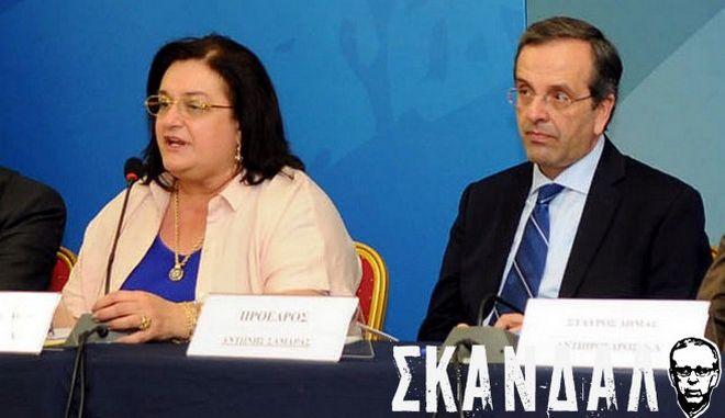 """Μαριέττα Γιαννάκου: """"Ο Μπαλτάκος δεν έχει σχέση με την παράταξη. Το παιχνίδι με τα άκρα πρέπει να τελειώσει"""""""