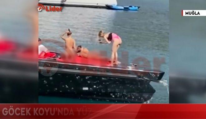 Σκάνδαλο στην Τουρκία: Μοντέλα πόζαραν γυμνά σε σκάφος και συνελήφθησαν