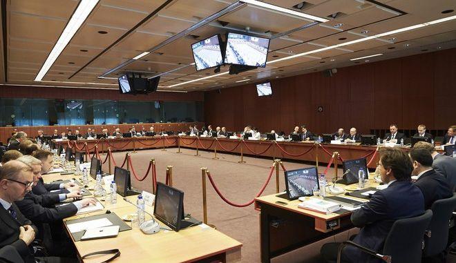 Συνεδρίαση του Eurogroup την Δευτέρα 11 Μαΐου 2015, στις Βρυξέλλες. (EUROKINISSI/Ε.Ε.)