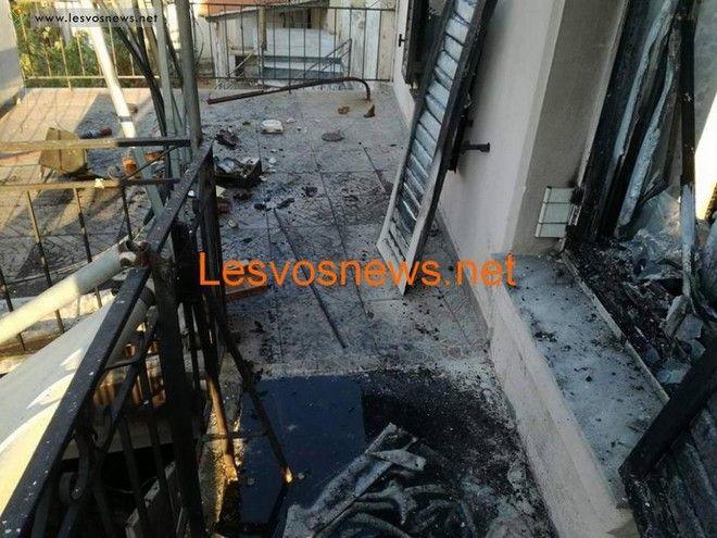 Λέσβος: H ηλικιωμένη μάνα πάλεψε να σώσει τους γιους της μέσα στο φλεγόμενο σπίτι