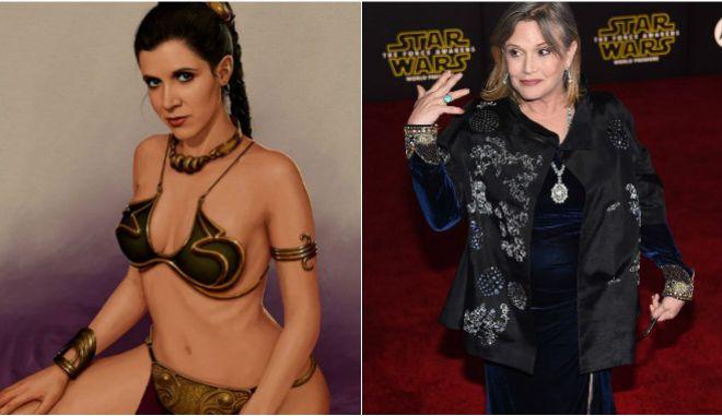 Star Wars: Η γριά πριγκίπισσα Λέα έχει το ζουμί