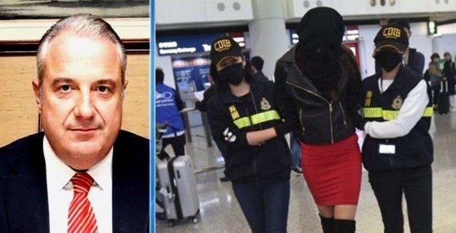Κεχαγιόγλου για 20χρονο μοντέλο στο Χονγκ Κονγκ: Ένα βαποράκι, εν αγνοία της μετέφερε την κοκαΐνη