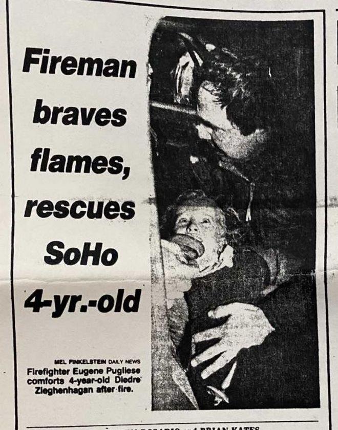 ΗΠΑ: Την έσωσε από μια φωτιά όταν ήταν 4, τον βρήκε 37 χρόνια μετά