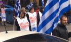 Πορεία οπαδών του Σώρρα στο Αγρίνιο