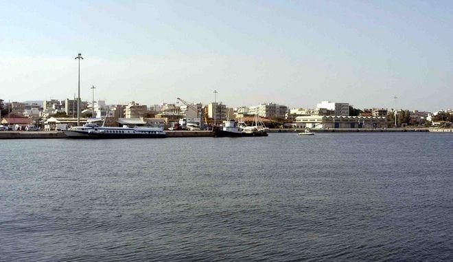 Εικόνα από το λιμάνι της Αλεξανδρούπολης