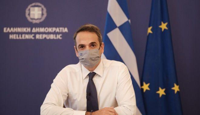 Ανακοινώσεις και συνέντευξη Tύπου του Πρωθυπουργού  για τα μέτρα αντιμετώπισης της πανδημίας