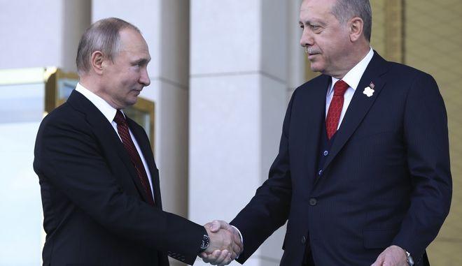 Βλαντιμίρ Πούτιν και Ταγίπ Ερντογάν