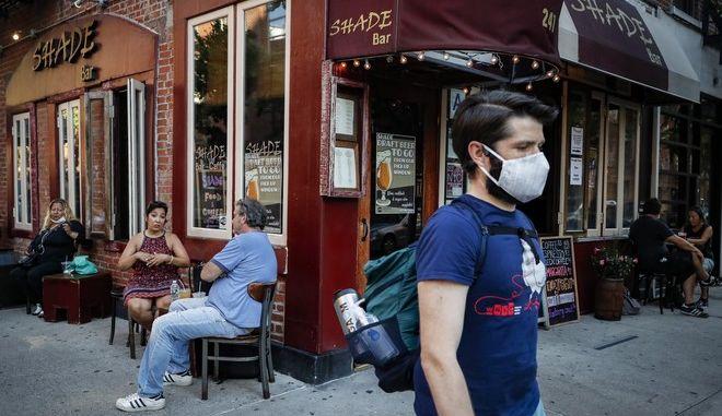 Στιγμιότυπο από τη Νέα Υόρκη