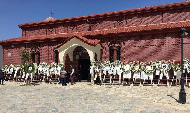 Μορφοβούνι Καρδίτσας. Κηδεία Σμηναγού Γιώργου Μπαλταδώρου
