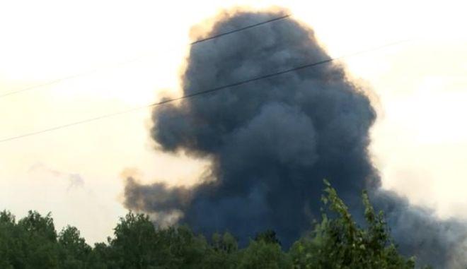 Μνήμες Τσερνόμπιλ στη Ρωσία: Έκρηξη με έκλυση ραδιενέργειας και νεκρούς σε πεδίο πυραύλων