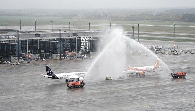 Το Terminal 1 του νέου αεροδρομίου του Βερολίνου,