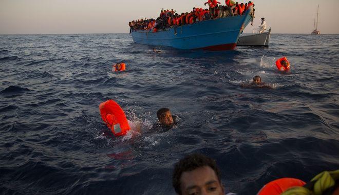 Μετανάστες - Φωτό αρχείου