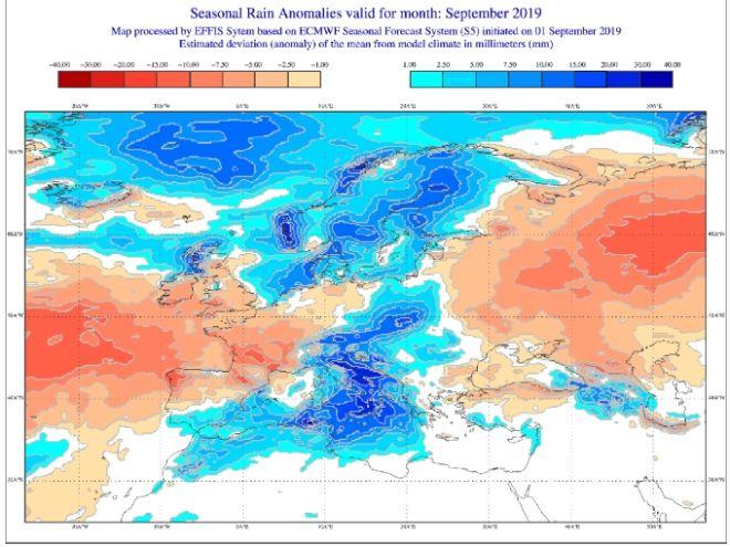 Τι καιρό θα κάνει τον Σεπτέμβριο σε Ελλάδα και Ευρώπη