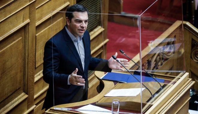 Ο πρόεδρος του ΣΥΡΙΖΑ ΠΣ, Αλέξης Τσίπρας