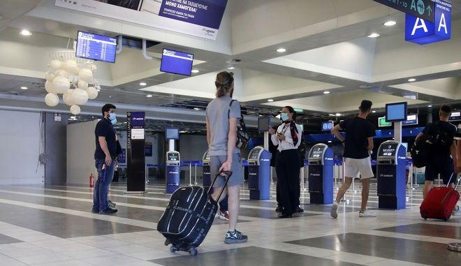 Επιβάτες στο Ελ. Βενιζέλος