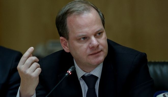 Ο υπουργός Μεταφορών, Κώστας Καραμανλής