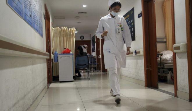 Νοσοκομείο στην Κίνα (φωτογραφία αρχείου)
