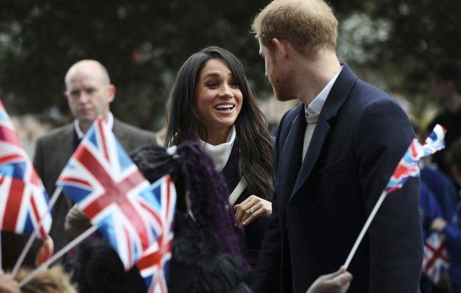 Ο πρίγκηπας Χάρι και η Μέγκαν Μαρκλ σε εκδήλωση. Φωτογραφία αρχείου.
