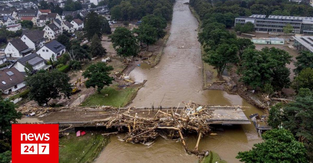 Γερμανία: Δραματική η κατάσταση από τις πλημμύρες – 141 νεκροί, 3.000 αγνοούμενοι – Κόσμος