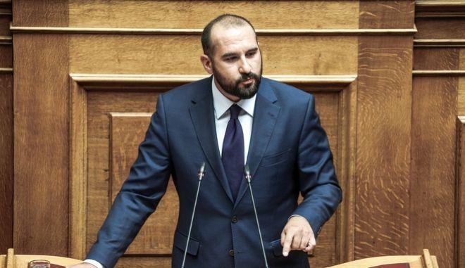 Ο Δημήτρης Τζανακόπουλος.