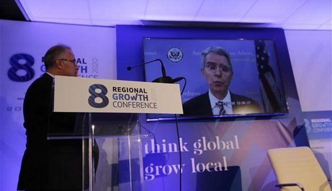 Πάιατ: Συνεργαζόμαστε για να φέρουμε περισσότερες αμερικανικές επενδύσεις στην Ελλάδα