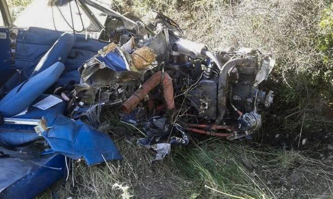 Πτώση μονοκινητήριου αεροπλάνου στην περιοχή Σκάλωμα στη Φωκίδα