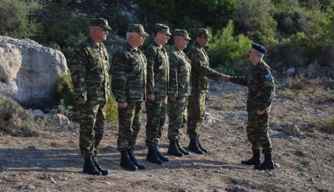 Ο αρχηγός ΓΕΣ Γεώργιος Καμπάς (Φωτογραφία αρχείου)