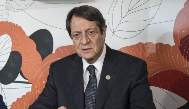Κυπριακό: Ο Αναστασιάδης ζητά λύση εντός πλαισίου του ΟΗΕ
