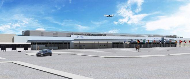 Οι μακέτες των 14 αεροδρομίων που αναλαμβάνει η Fraport Greece