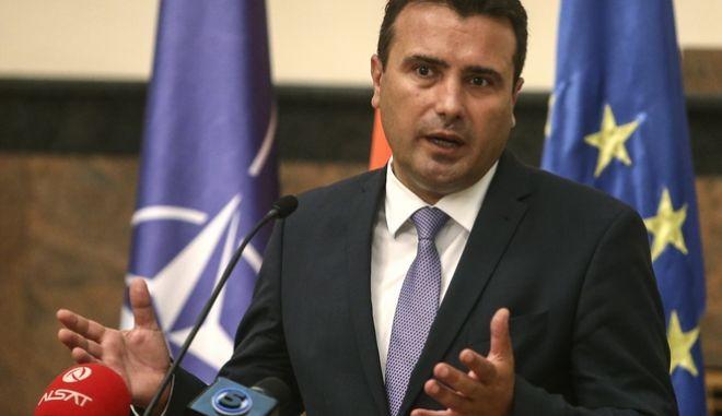 """Ζόραν Ζάεφ: """"Θα επιλυθεί το θέμα με την ονομασία της εθνικής στο Euro 2020. Το θέσαμε ήδη στην Ομοσπονδία"""""""