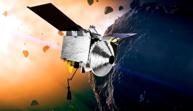 OSIRIS-REx στον αστεροειδή Μπενού