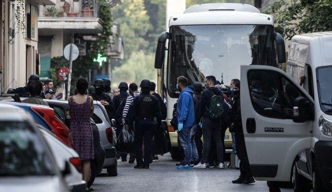 Επιχείρηση της Ελληνικής Αστυνομίας για μετανάστες