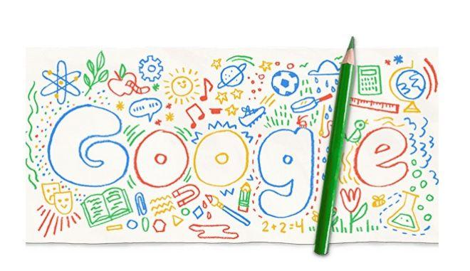 Η Google τιμά το άνοιγμα των σχολείων