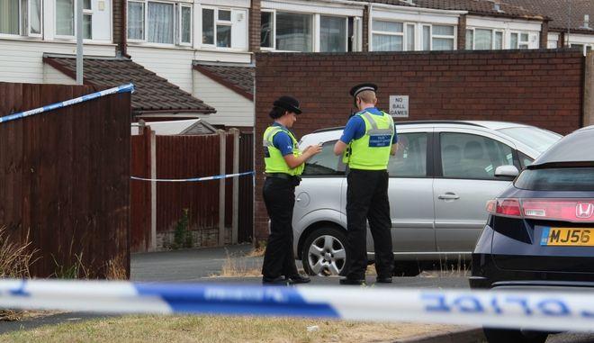 Βρετανοί αστυνομικοί στο Wolverhampton