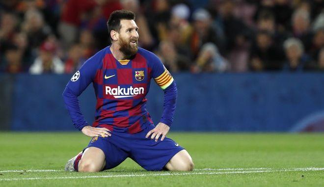 Η αντίδραση του Λιονέλ Μέσι μετά από χαμένη ευκαιρία για γκολ