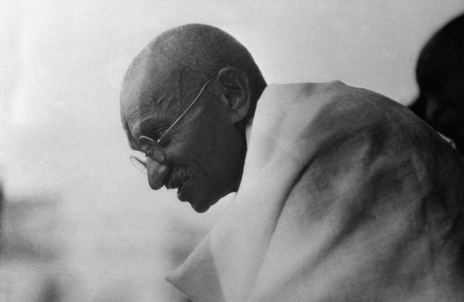 Ο Μαχάτμα Γκάντι το 1931.