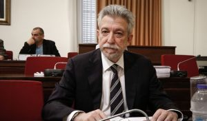 Ο υπουργός Δικαιοσύνης Σταύρος Κοντονής