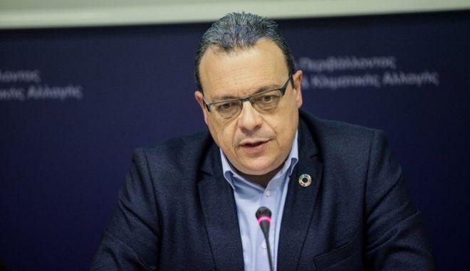 Ο Αναπληρωτής Υπουργός Περιβάλλοντος & Ενέργειας, Σωκράτης Φάμελλος