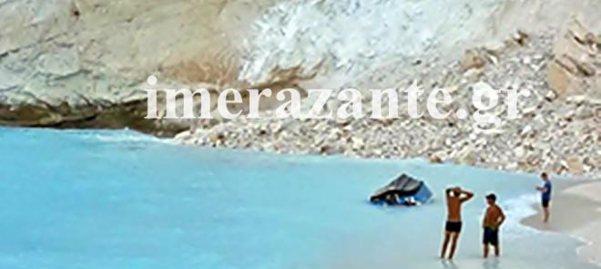 Ζάκυνθος: Καρέ-καρέ η κατολίσθηση στο Ναυάγιο
