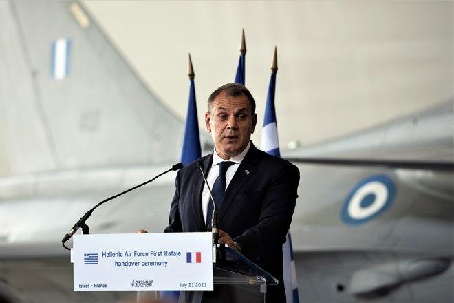 Παναγιωτόπουλος: Η αγορά των Rafale υπογραμμίζει το στρατηγικό χαρακτήρα των ελληνο-γαλλικών σχέσεων