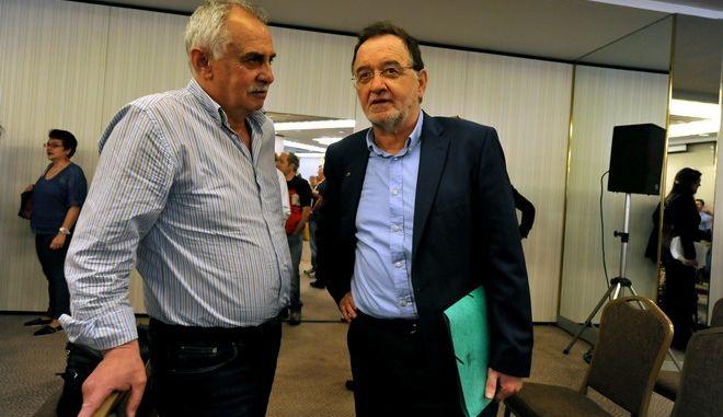 Στιγμιότυπο από την συνεδρίαση της Κεντρικής Επιτροπής του ΣΥΡΙΖΑ, Σάββατο 23 Μαΐου 2015. (EUROKINISSI/ΤΑΤΙΑΝΑ ΜΠΟΛΑΡΗ)