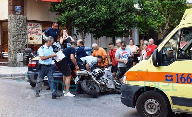 Βόλος: Γυναίκα κατέληξε στην οροφή αυτοκινήτου μετά από τροχαίο