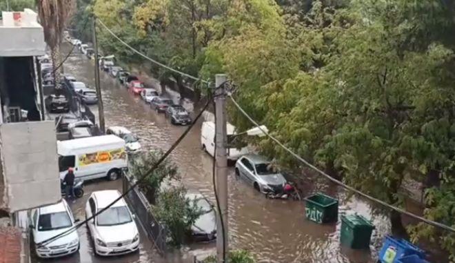 Το Μοσχάτο έγινε ποταμός