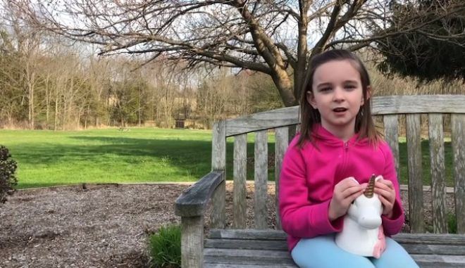 ΗΠΑ: 6χρονη χαρίζει τις οικονομίες της σε γιατρούς και νοσηλευτές