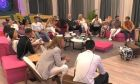 Οι παίκτες του Big Brother στο σαλόνι του σπιτιού