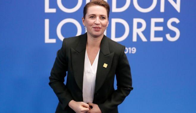 Η πρωθυπουργός της Δανίας, Μέτε Φρεντέρικσεν