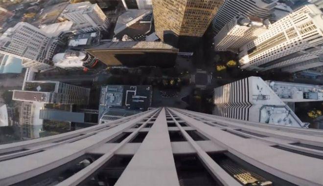 Μην το δεις αν ζαλίζεσαι: Το πιο ακραίο Drone βίντεο που έχει κυκλοφορήσει